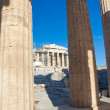 Doric Columns. Athens, Greece. — Stock Photo
