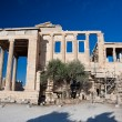 The Erechtheion on Acropolis of Athens in Greece. — ストック写真