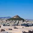 View of Athens and Mount Lycabettus, Greece. — Stock Photo