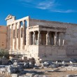 The Erechtheion on Acropolis of Athens in Greece. — Stock Photo
