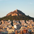 Panoramic view of Athens and Mount Lycabettus, Greece. — Stock Photo