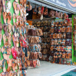 Stock Photo: Shop on Ermou Street in Athens, Greece.