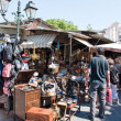 The flea market in Monastiraki. Athens, Greece. — Stock Photo