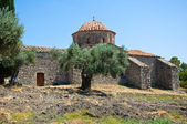 Moni Thari monastery, Rhodes, Greece. — Fotografia Stock