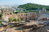 The Odeon of Herodes Atticus, Greece, Athens. — Stock Photo