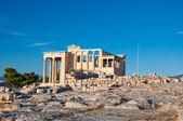 The Erechtheion on Acropolis of Athens. Greece. — Stock Photo
