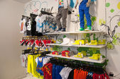 ATHENS-AUGUST 1: Children's garments in Zara store on Ermou Street on August 3, 2013 in Athens.Greece. — Stock Photo