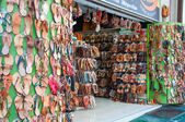 Shop on Ermou Street in Athens, Greece. — Stock Photo