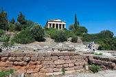 Hephaestustemplet i aten, grekland. — Stockfoto