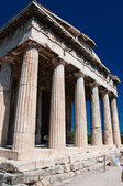 The Temple of Hephaestus at the north-west side of the Agora of Athens.Greece. — Stock Photo