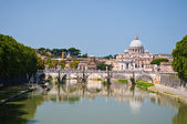 Saint Peter's Basilica in Rome, Italy. — Stock Photo