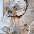 Detail of the Fontana del Pantheon in Rome, Italy. — Stock Photo