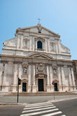 The Church of the Gesù on August 6,2013 in Rome, Italy. — Stock Photo