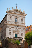 The Church of Santi Domenico e Sisto. Rome, Italy. — Stock Photo