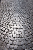 The pavement in Rome, Italy. — Stock Photo