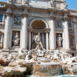 Detail of the Trevi Fountain. Rome, Italy. — Stock Photo