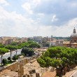 ROME-JULY 19: Rome as seen from the Capitoline Hill on July 19, 2013 in Rome, Italy. — Stock Photo #44969961