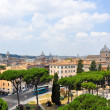 ROME-JULY 19: Rome as seen from the Capitoline Hill on July 19, 2013 in Rome, Italy. — Stock Photo #44969963
