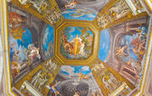 Ceiling painting in Vatican. Rome. — Stock Photo