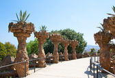Park Güell designed by architect Antoni Gaudi. Barcelona, Catalonia.Spain. — Stock Photo