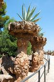 Detail of Park Güell. Barcelona, Spain. — Stock Photo