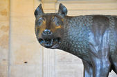 The Capitoline Wolf. Rome. — Stock Photo