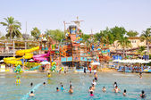 DUBAI-JUNE 6: Wild Wadi Water Park on June 6,2009 in Dubai. Wild Wadi Water Park is an outdoor water park in Dubai, United Arab Emirates. — Stock Photo