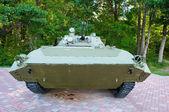 Russian mechanized infantry combat vehicle. — Stock Photo