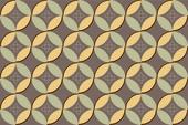 Mönster av geometriska former — Stockvektor