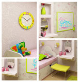 Fragments child interior — Stockfoto