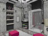 Badkamer interieur — Stockfoto