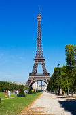 The Eiffel Tower in Paris, France — Foto Stock