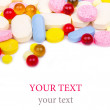 Colorful tablets with capsules — Stock Photo #14194818
