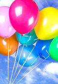 Ballons in the sky — Stock Photo
