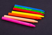Wax crayons — Stock Photo