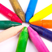 Colored vax pencil — Stock Photo