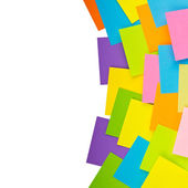 Colored stickers — Stock Photo