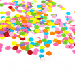 Confetti on white background — Stock Photo #25216785