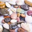 Sea stones background — Stock Photo