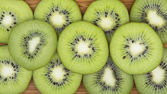 Fresh kiwi background — Stock Photo