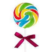 Lollipop isolated on white background — Stock Photo