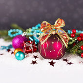 Christmas. Christmas Decoration Holiday Decorations Isolated on — Foto Stock