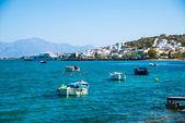 Grécia, creta, aghios nikolaos, elounda — Foto Stock