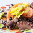 Octopus salad — Stock Photo