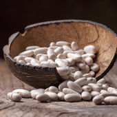Seamless texture with legumes — Stock Photo