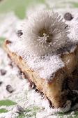 Choklad tårtbit — Stockfoto