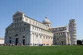 Pisa-Piazza dei miracoli — Stock Photo