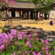 Koretraditional village house — Stock Photo #16025345
