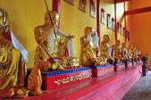 Socha v buddhistickém chrámu. — Stock fotografie