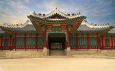 Palace in South Korea — Stockfoto